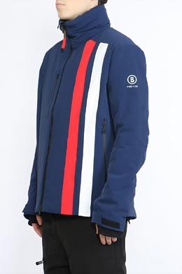 Синяя куртка с воротником-стойкой Bogner 1936181760