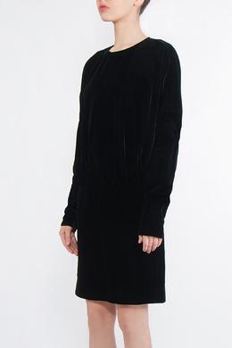 Черное бархатное платье Saint Laurent 1531181720