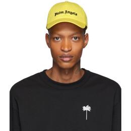 Palm Angels Yellow Logo Cap PMLB009S202240236010