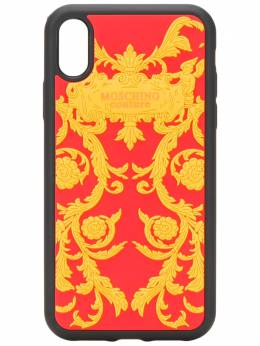 Moschino чехол для iPhone XR с принтом A79348302