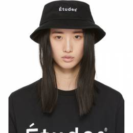 Etudes Black Training Bucket Hat E14M-810-01