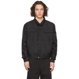 Random Identities Black Japanese Workwear Harrington Jacket SW-14