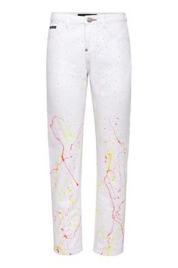 Укороченные брюки со стразами Philipp Plein 1795182420