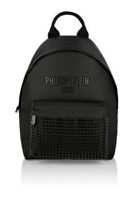 Черный текстильный рюкзак с заклепками Philipp Plein 1795182395