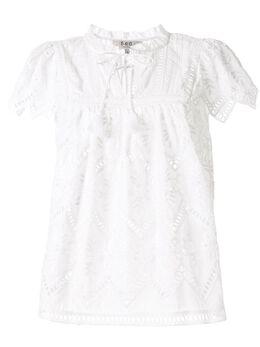 Sea блузка с английской вышивкой RS2091