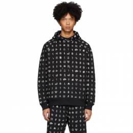 Etudes Black Wikipedia Edition Racing All-Over Hoodie E16S-145-WK2
