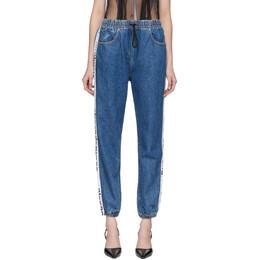 Alexander Wang Blue Denim Jogger Jeans 4DC1204577