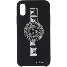 Versace Black Medusa iPhone X/XS Case DPY7664L DPCGR