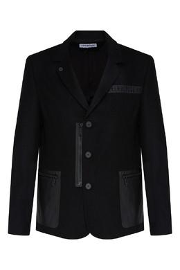 Черный пиджак Bikkembergs 1487182945
