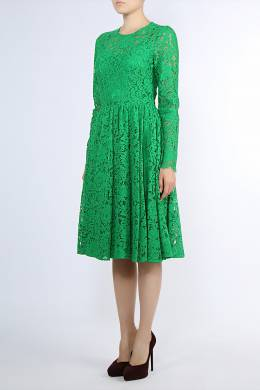 Зеленое кружевное платье Dolce&Gabbana 599182665