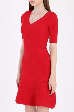 Красное платье с ажурным декором на спине Philipp Plein 1795182697