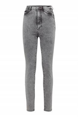 Серые облегающие джинсы Philipp Plein 1795182557