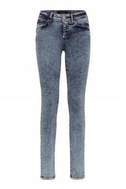 Серо-голубые джинсы-скинни Philipp Plein 1795182962