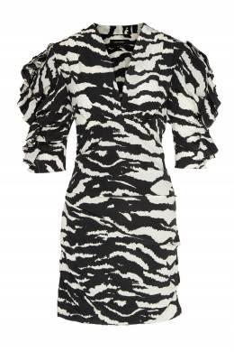 Платье мини с анималистичным принтом Farah Isabel Marant 140182769