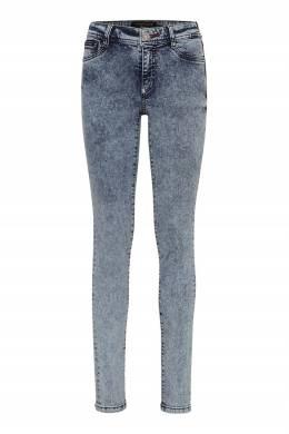Пепельно-голубые джинсы со стразами Philipp Plein 1795182997