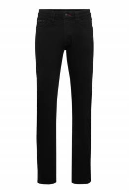 Черные джинсы с низкой посадкой Philipp Plein 1795183010