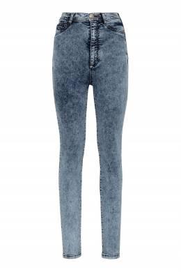 Голубые облегающие джинсы Philipp Plein 1795182924