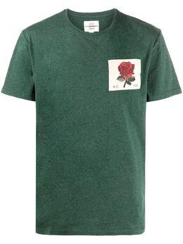 Kent & Curwen футболка с нашивкой K4070E1314