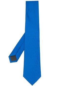 Fendi жаккардовый галстук с монограммой FXC160AAQJ