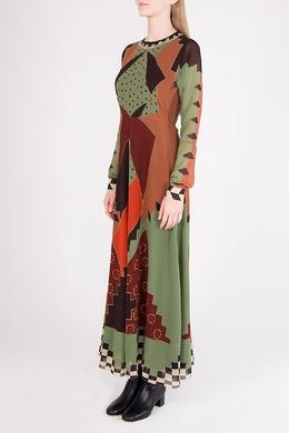 Разноцветное макси-платье Etro 907182367