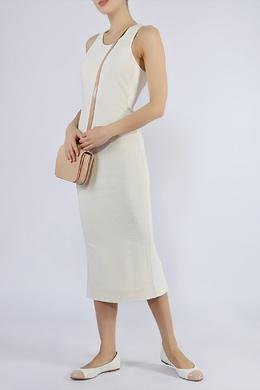 Белое приталенное платье Diane Von Furstenberg 110182523