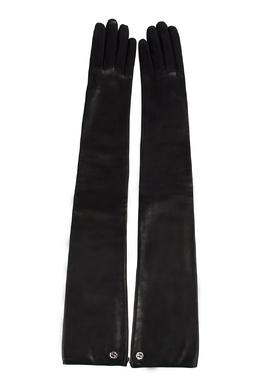 Длинные кожаные перчатки Gucci 470182451