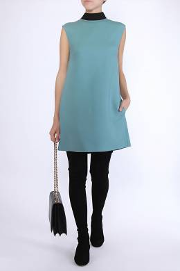 Голубое платье без рукавов Valentino 210182487