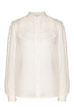 Блуза с кружевной вышивкой Super Eight Zimmermann 1411183135