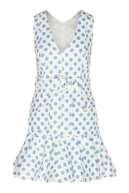 Короткое платье в горох Super Eight Zimmermann 1411183136