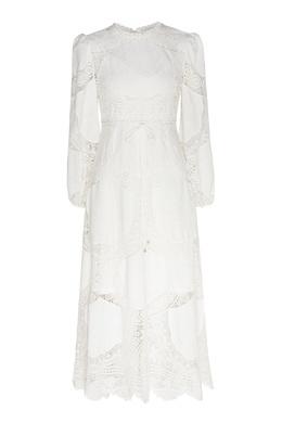 Кружевное платье миди Bonita Zimmermann 1411183129