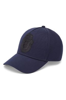 Синяя бейсболка с вышивкой Billionaire 1668183307
