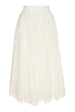 Кружевная юбка миди Super Eight Zimmermann 1411183226