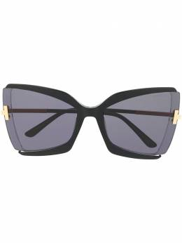 Tom Ford Eyewear Gia butterfly-frame sunglasses FT0766