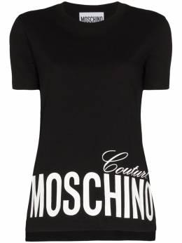 Moschino Logo print T-shirt A07030540
