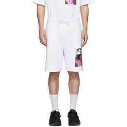 Dries Van Noten SSENSE Exclusive White Mika Ninagawa Edition Habda Shorts 21101-9613-001