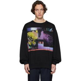 Dries Van Noten Black Mika Ninagawa Edition Hoxto Sweatshirt 21198-9613-900