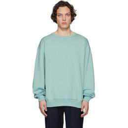 Dries Van Noten Blue Hoxto Sweatshirt 21197-9611-608
