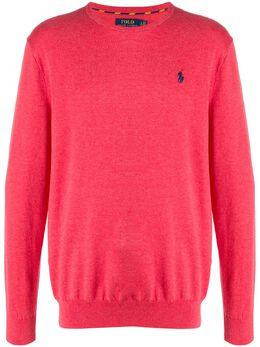 Polo Ralph Lauren пуловер с вышитым логотипом 710744679
