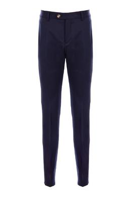 Темно-синие брюки Brunello Cucinelli 1675183708