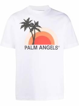 Palm Angels футболка с графичным принтом PMAA001S204130160188