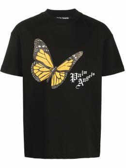 Palm Angels graphic print cotton T-shirt PMAA001S204130141088