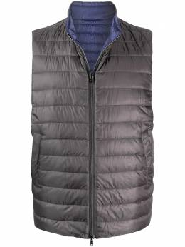 Herno quilted reversible gilet PI0537U12020