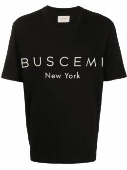 Buscemi logo print T-shirt 20247NERO009