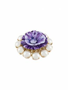 Dolce&Gabbana floral embellished ring WRM2P1W1111