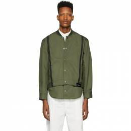 3.1 Phillip Lim Green Shirttail Bomber Jacket S202-6136STIM