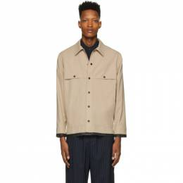 3.1 Phillip Lim Beige Wool Workman Jacket S201-6312WPLM