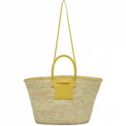 Jacquemus Beige and Yellow Le Grand Panier Soleil Tote 201BA08-201 61200