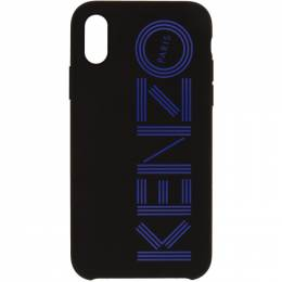 Kenzo Black Logo iPhone X/XS Case FA5COKIFXKMP