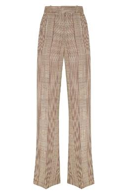 Клетчатые брюки-палаццо Carrie Golden Goose 1690106864