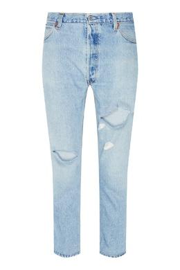 Синие джинсы с прорезями Re/Done 1781106381